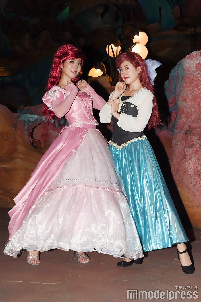たぴ岡(アリエル)、lily(アリエル) (C)モデルプレス(C)Disney