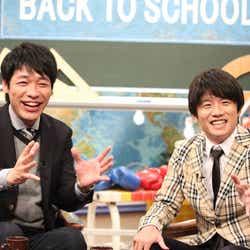 (左から)川島明、風間俊介(C)フジテレビ