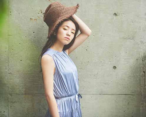 横田真悠、大人可愛い春のカラーコーデで魅了