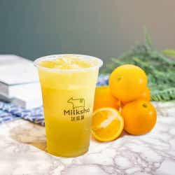 台湾オレンジジャスミン緑茶 ¥550/画像提供:MILKSHOP JAPAN株式会社