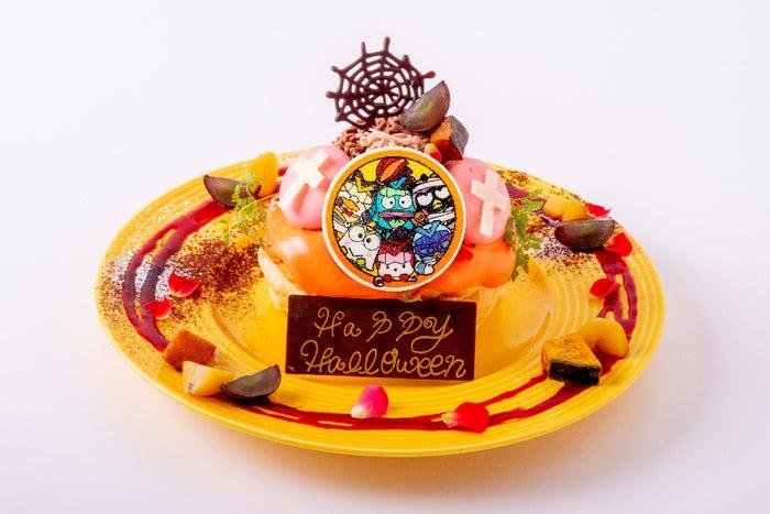 ハッピーハロウィンパンケーキ1,580円(提供画像)