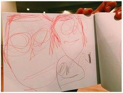 水嶋ヒロと絢香の娘が描いた家族の絵/水嶋ヒロブログより