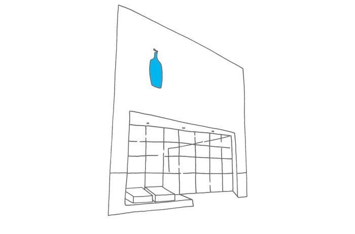 ブルーボトルコーヒー 清澄白河ロースタリー&カフェ/画像提供:Blue Bottle Coffee Japan