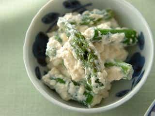お肌のゆらぎシーズンに!旬の「アスパラガス」で作る和風な副菜レシピ7選