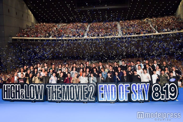 「HiGH&LOW THE MOVIE 2/END OF SKY」完成披露プレミアイベントの様子(C)モデルプレス