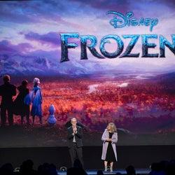 「アナと雪の女王2」新曲初お披露目 新キャラクター&キャストも発表