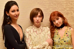 (左から)菜々緒、本田翼、仲里依紗 (C)モデルプレス