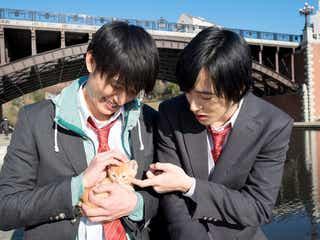 【独占動画】上遠野太洸&西川俊介にカップル疑惑?なでなで&じゃれあう姿がカワイイ<覚悟はいいかそこの女子。>