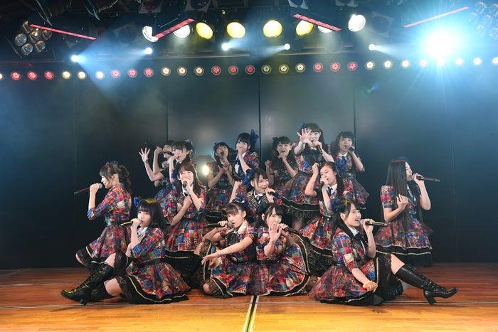 AKB48柏木由紀「アイドル修業中」公演(C)AKS