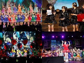 HKT48、AKB48グループ初の試み サプライズ発表で沸かす