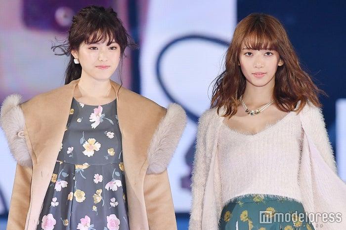 (左から)松村沙友理、橋本奈々未(C)モデルプレス
