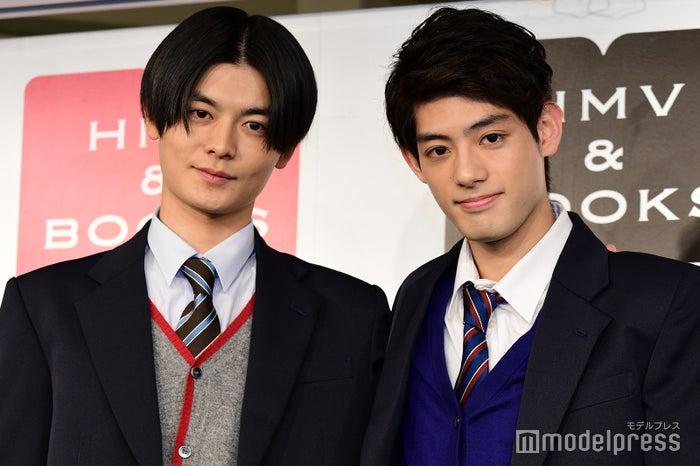 イベントに登場した三船海斗、池田健一郎 (C)モデルプレス