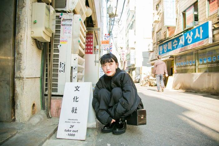 """""""文化社""""っていうネーミングがまたカワイイ/高井香子さん(提供画像)"""