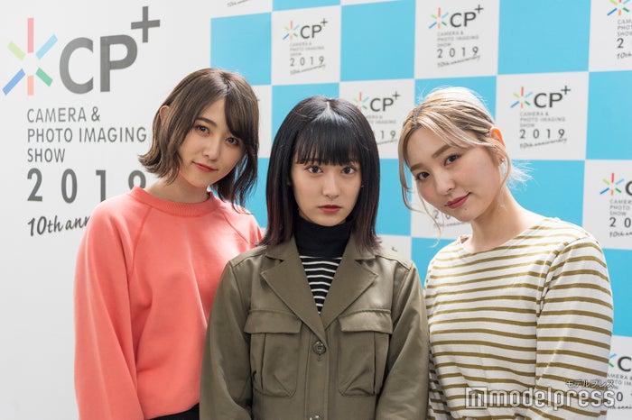 「シーピープラス 2019」を満喫した3人(C)モデルプレス
