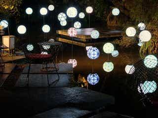 「星のや京都」に幻想的に浮かぶ手毬の灯り。期間限定イベント「星のや毬ごよみ」