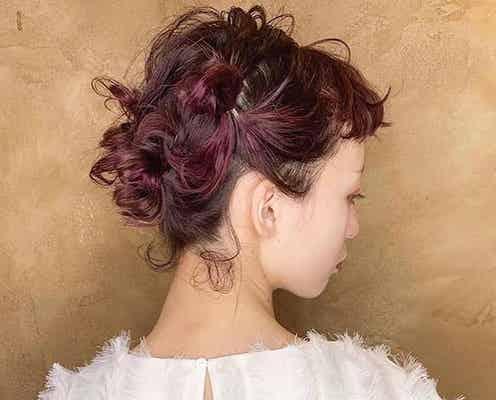《ミディアム》結婚式の二次会向けの髪型15選。自分でできるお呼ばれヘアカタログ
