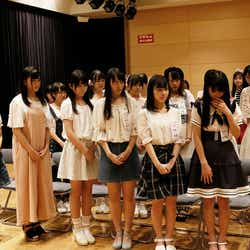 STU48選抜メンバー発表の様子 (C)STU