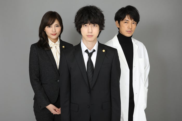 (左から)川口春奈、坂口健太郎、藤木直人(C)日本テレビ