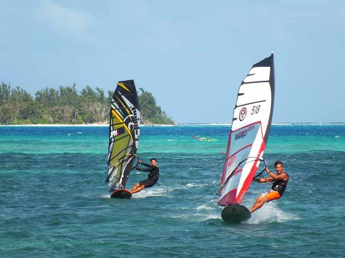 ウィンドサーフィンも楽しそう(C)Seawind Marine Sports Club