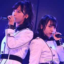 小栗有以、向井地美音/AKB48岡部チームA「目撃者」公演(C)モデルプレス
