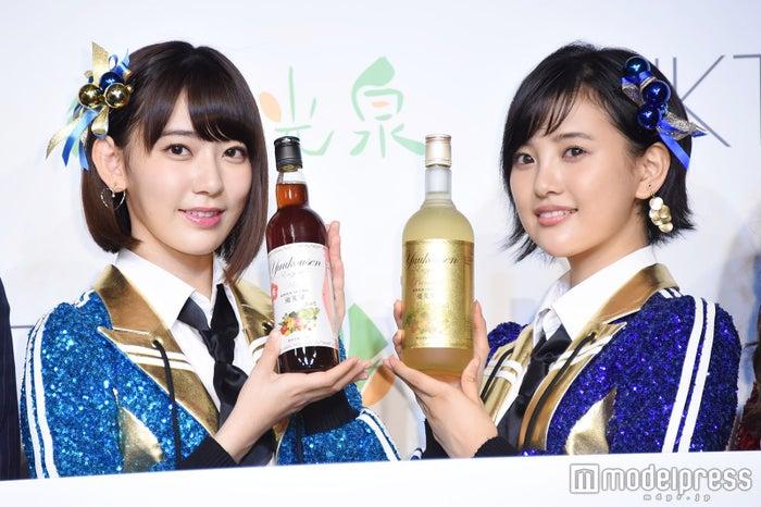 宮脇咲良、兒玉遥 (C)モデルプレス