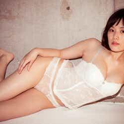 """モデルプレス - 筧美和子、SEXY下着で""""史上最高グラビア"""""""