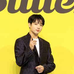 「Butter」発売記念グローバル記者会見でのJUNG KOOK(C)BIGHIT MUSIC