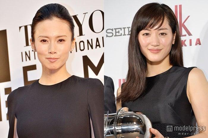 中谷美紀(左)、綾瀬はるか(右)との交友関係明かす【モデルプレス】