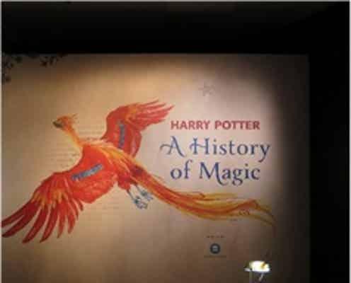 """「ハリー・ポッターと魔法の歴史」展、大英図書館で""""史上最大の成功を収めた展覧会""""日本上陸"""
