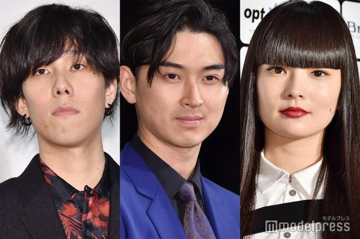 野田洋次郎、松田翔太、秋元梢 (C)モデルプレス