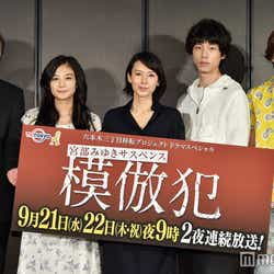 (左から)岸部一徳、清水富美加、中谷美紀、坂口健太郎、山本裕典(C)モデルプレス