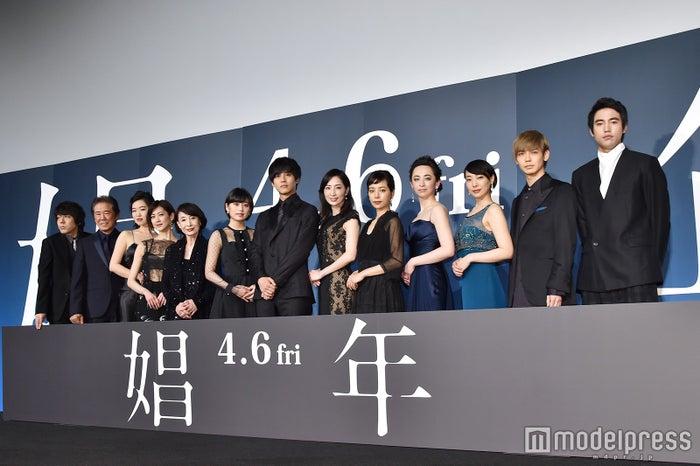 映画『娼年』完成披露舞台挨拶(C)モデルプレス