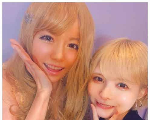 """島崎遥香、益若つばさ「Popteen」時代メイクで""""ギャルル""""に「似合ってて可愛い」の声"""