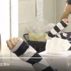 """モデルプレス - 松井玲奈""""変身動画""""が話題"""