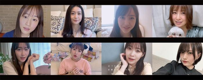 (上段左から)前田敦子、大島優子、板野友美、篠田麻里子(下段左から)小嶋陽菜、高橋みなみ、指原莉乃、山本彩(C)AKB48/キングレコード