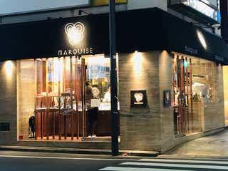 平日25時までオープンも!深夜営業の銀座のケーキ店へ、夜のお散歩♪