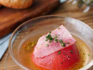 【365日のパンとスープ】丸ごとトマトの冷製コンソメスープ
