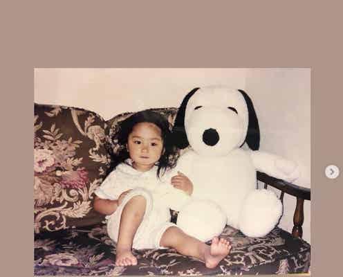 乃木坂46与田祐希、幼少期ショット公開で反響「愛おしい」「昔から可愛すぎ」