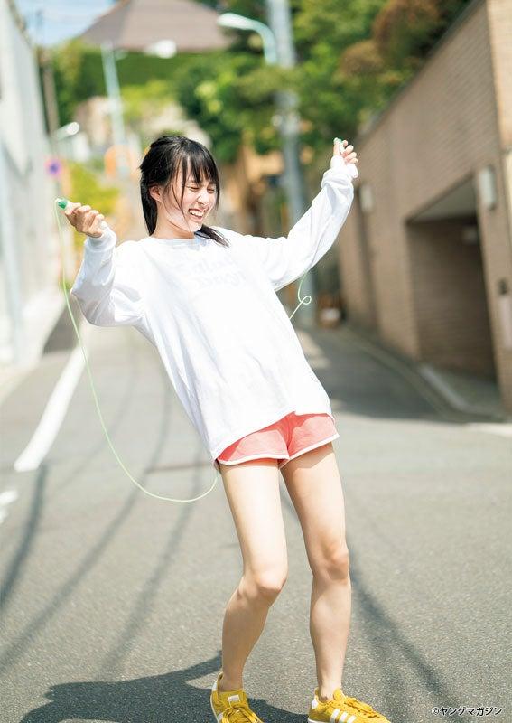 賀喜遥香(C)YOROKOBI /ヤングマガジン