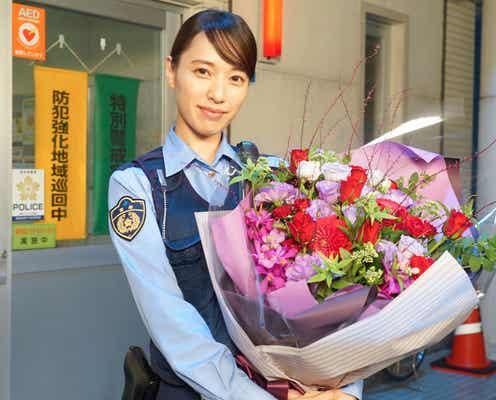 戸田恵梨香、ホッとした表情を浮かべ「ハコヅメ」クランクアップ「乗り切れるのかなって心配もありました」