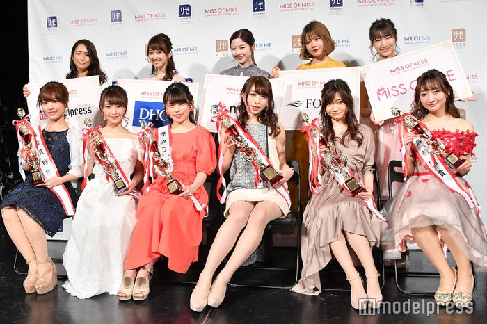 「Miss of Miss CAMPUS QUEEN CONTEST 2019」各賞受賞者(C)モデルプレス