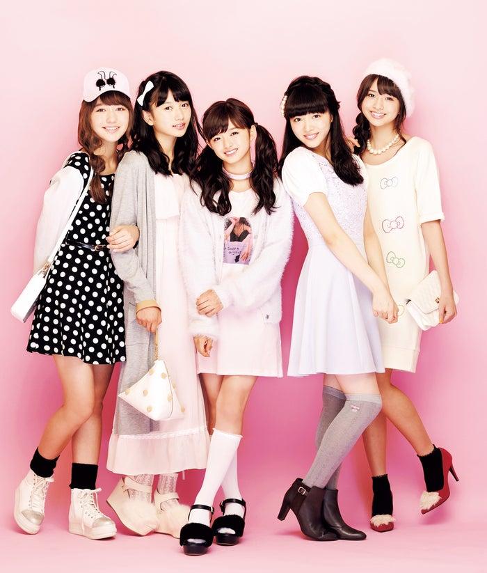 (左から):木村ユリヤ、黒川心、関りおん、中山莉子、三品瑠香(画像提供:徳間書店)