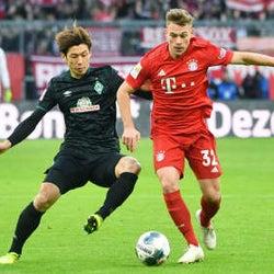 ブレーメン大迫は後半退く ドイツ1部、1―6でチーム大敗