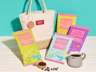 毎年人気のグッズが今年も!カルディ「春のコーヒーバッグ」数量限定発売
