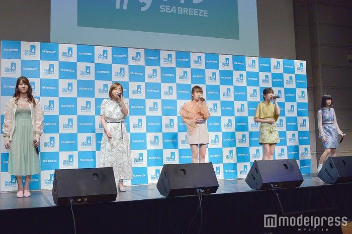 Little Glee Monster(左から)かれん、MAYU、芹奈、manaka、アサヒ (C)モデルプレス