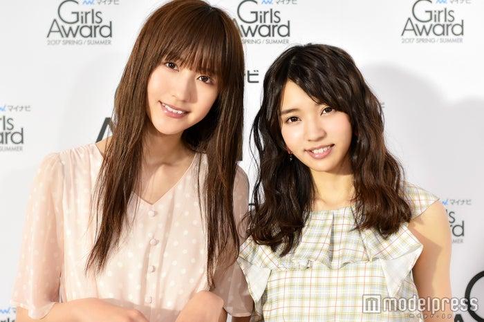 モデルプレスのインタビューに応じた小林由依(右)土生瑞穂(左)/(C)モデルプレス