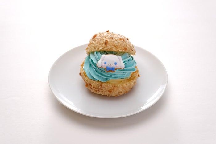 サンリオキャラクターシュークリーム(全6種)各360円/シナモロール・ミント&カスタードシュークリーム(提供画像)
