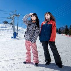 """スキー場で""""映える写真""""対決 やのあんなVS菅沼ゆりでバトル<Kawaii JAPAN-da!!>"""