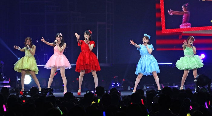 「℃‐uteラストコンサートinさいたまスーパーアリーナ ~Thank you team℃‐ute~」(画像提供:所属事務所)