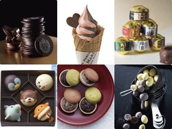 大阪「バレンタイン チョコレート博覧会」開幕、即食べたくなるチョコスイーツも勢揃い